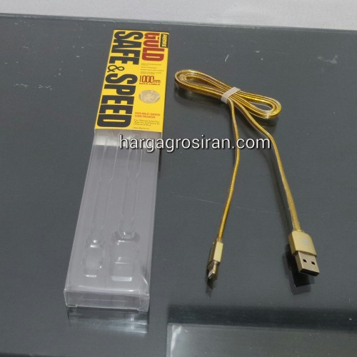 Kabel Remax Gold Editon For Iphone 5 / 5s / Iphone 6 / 6 Plus / Ipad Air - Charger / Data