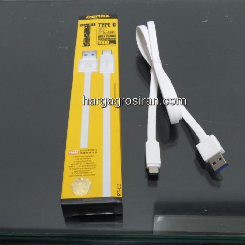Kabel Remax Type C - RT-C1 USB 3.0 Macbook / Nokia N1 - Charger / Data