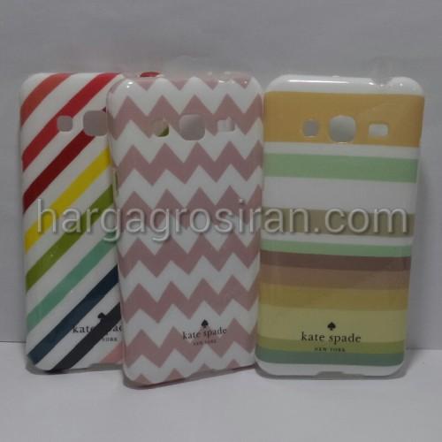 Kate Spade Samsung J3 - Softshell / Silikon Motif / Back Case / Cover