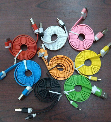 Kabel BB n Iphone 4 Warna Warni