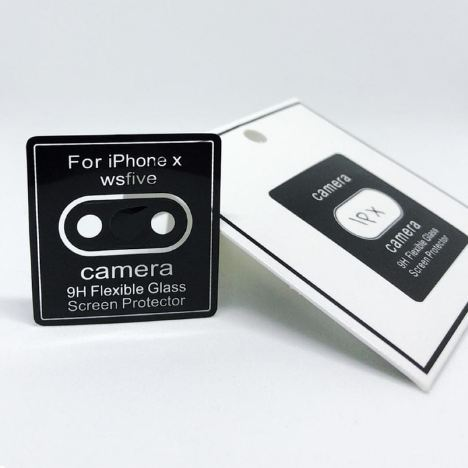 Camera Screen Protector Iphone X - Anti Gores Pelindung Lensa Kamera