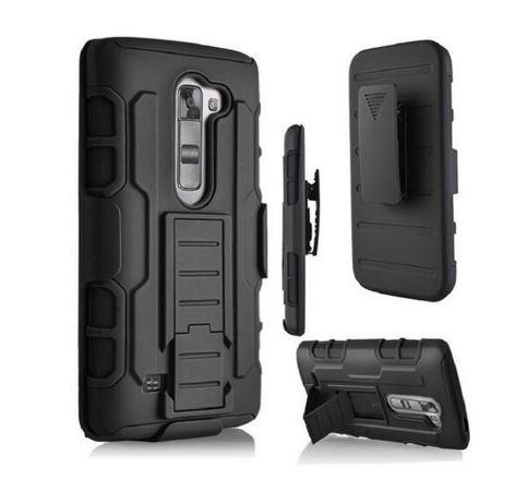 Future Armor LG K8 / K350 / Kick Stand / Defender Belt Clip Model OtterBox Case Out Door