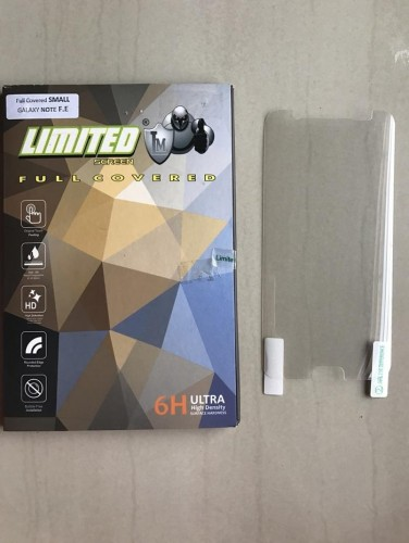 Anti Gores Limited Samsung Note FE - Full Cover