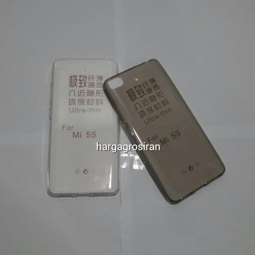 FS TPU Xiaomi MI 5S / Mi5s - Bahan Softshell / Ultra thin  - Kualitas tidak jamuran