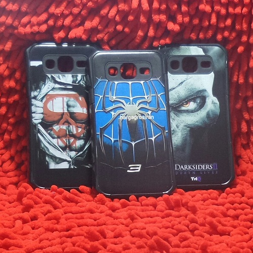 Man Case Samsung J5 2015 Model Spigen Motif Superman / Spider / Captain Amerika
