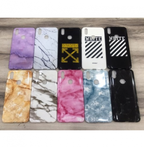 Iphone 6 Plus / 6s Plus Marble Case / Keramik Marmer Bahan Silikon Motif Full Cover Case Ver.25