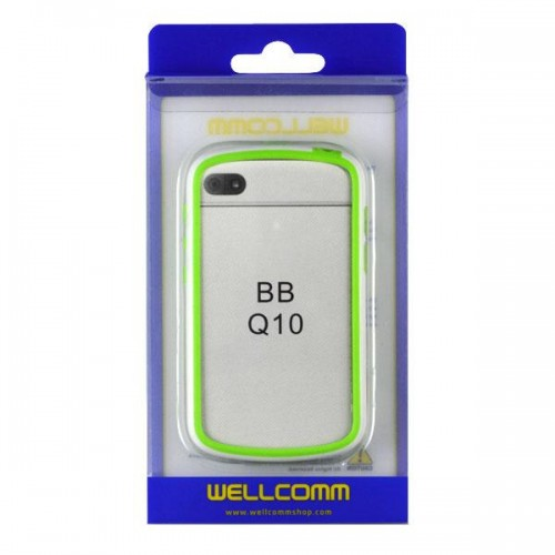 Middle Bumper + Pack For Blackberry Q10