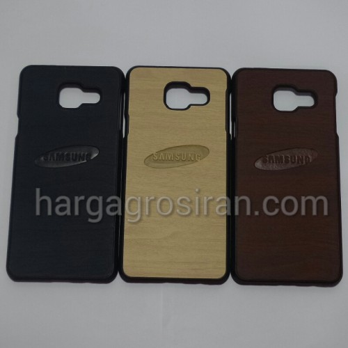 Motif Kayu Samsung Galaxy A3 2016 / A310 / Hardcase Lentur / Back Case / Cover Wood