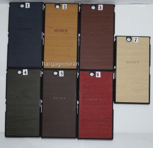 Motif Kayu Sony Xperia Z Ultra / XL39H / Hardcase Lentur / Back Case / Cover Wood