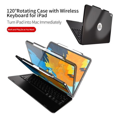 New Ipad Pro 12.9 2018 Sarung DUX Ducis Case Bluetooth Wireless Keyboard Protective SKB-005