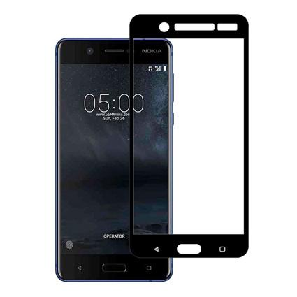 Nokia 5 -  Tempered Glass Full Body Anti Gores Kaca Premium / Full Bahan Kaca Full Lem