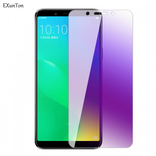 Tempered Glass Oppo A7 aja / A5s / Anti Blue / Anti Radiasi  / Anti Gores Kaca
