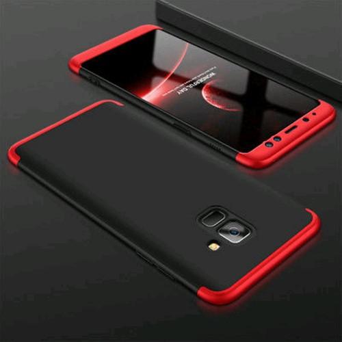Samsung A8 Plus 2018 - GKK 360 Full Protective /Hardcase Full Case - Pelindung Full Body