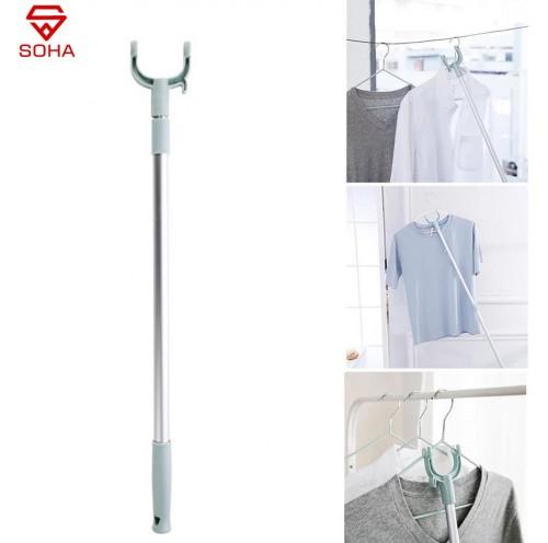 PCK-03 Alat Bantu Jemur Baju Pick Up Tool Tongkat Kait Jemuran / Gantungan Baju Bisa di Panjang dan Pendekin Fleksibel