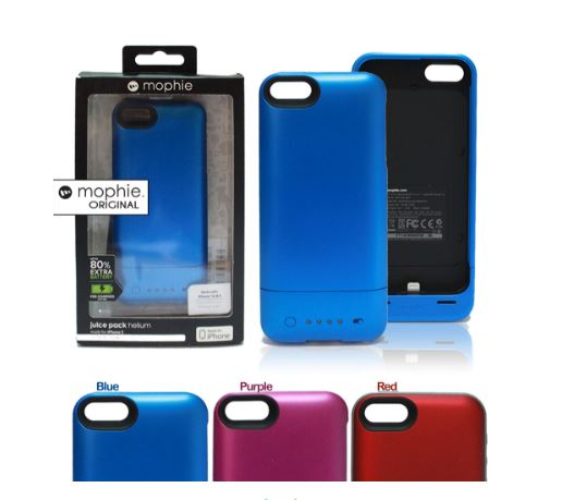 Mophie Juice Pack Plus For Iphone 5 ORIGINAL Power Pack Case 1500 MaH