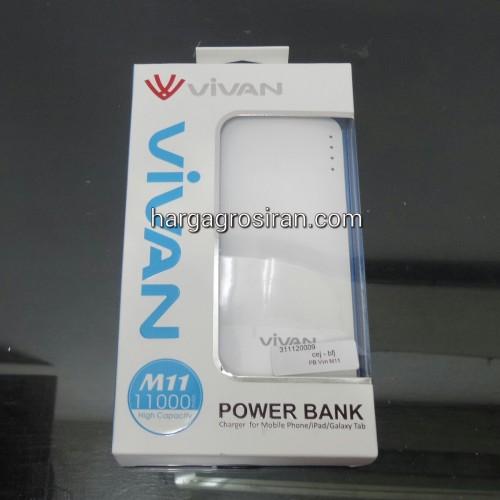 Powerbank Vivan M11 11.000 Mah