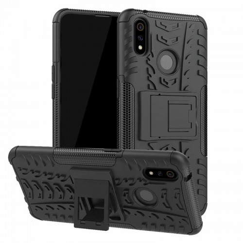 Realme 3 Pro - Rugged Armor Stand / Hybrid / Dazzle Cover / Shockproof