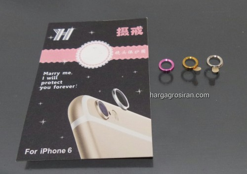 Ring Cover iPhone 6 / 6 plus - Pelindung Kamera / Lens Protector