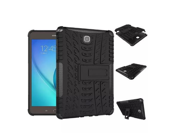 Case Tab A 8 Inch / T350 - Rugged Armor Stand / Hybrid / Dazzle Cover