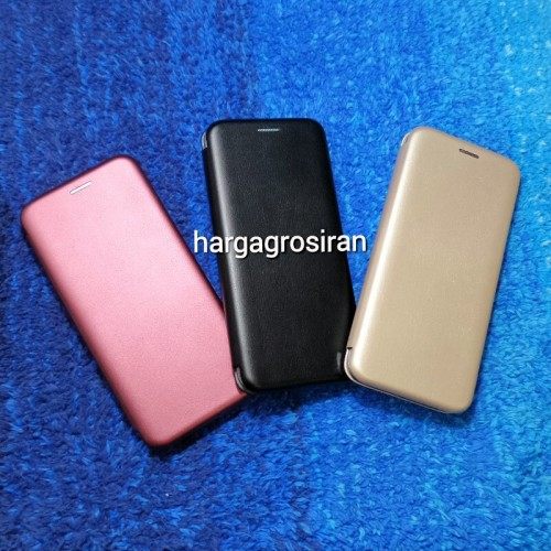 Sarung Kulit Samsung Galaxy S8 Plus / Flip / Leather Case