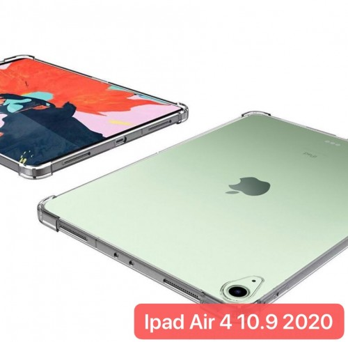 SBT-002 Silikon Anti Crack New Ipad Air 4 2020 10.9 Inch Soft Tablet Bening Back Cover Clear Transparent