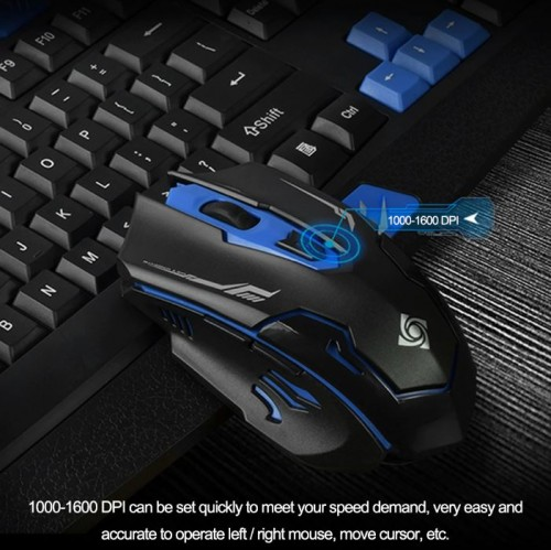 SOHA KYB-007 Keyboard + mouse Professional gaming wireless combo HK8100 SINGLE NANO RECEIVER 2.4G