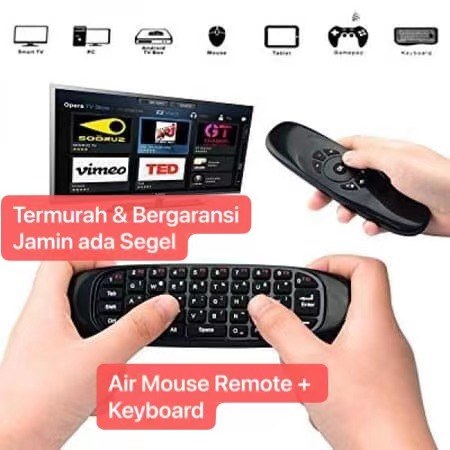 SOHA KYB-012 Air Mouse Wireless 2.4G Keyboard Mini Remote Control 6-Axis Gyroscope For Smart TV Android box C120