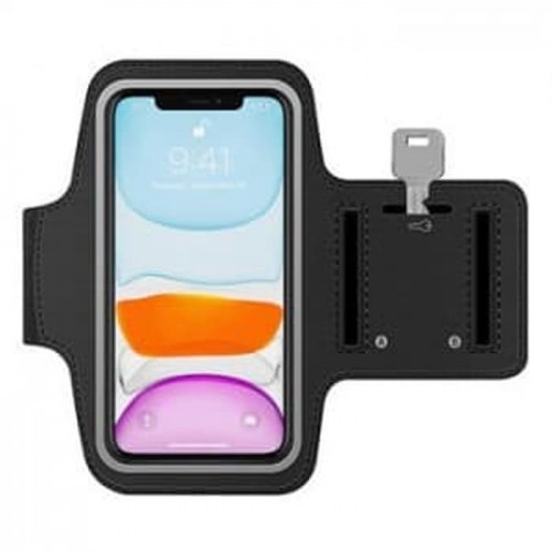 SR-01 ArmBand Sport Universal Ukuran 5.5 - 6 Inch Arm Band Case iPhone Samsung Xiaomi Armbands