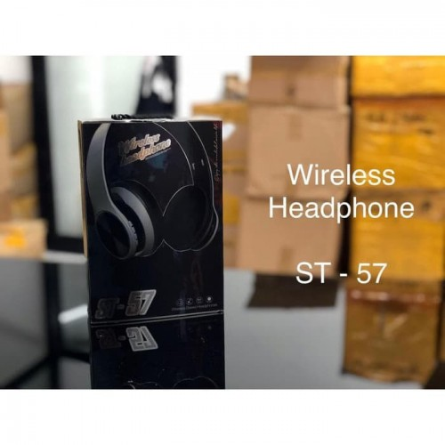 ST-57 Headset Earphone bluetooth wireless SONY  - Bass Stereo Dan Suara Jernih