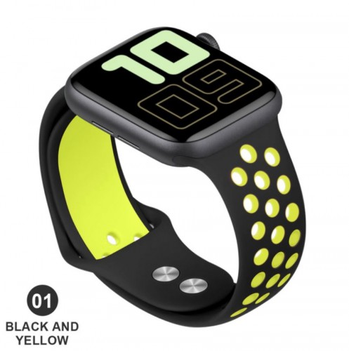 STA-002 Sport Series Tali Strap Jam Apple iWatch 1/2/3/4 38mm - 40mm & 42mm - 44mm Watch Band