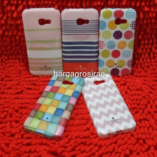 Kate Spade Samsung A5 2017 / A520 - Softshell / Silikon Motif / Back Case / Cover