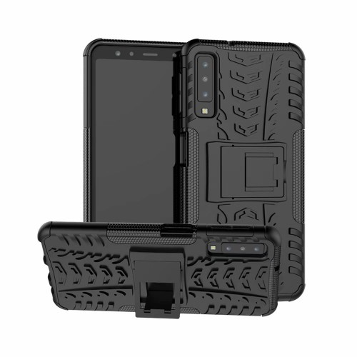 Samsung Galaxy A7 2018 - Rugged Armor Stand / Hybrid / Dazzle Cover / Shockproof