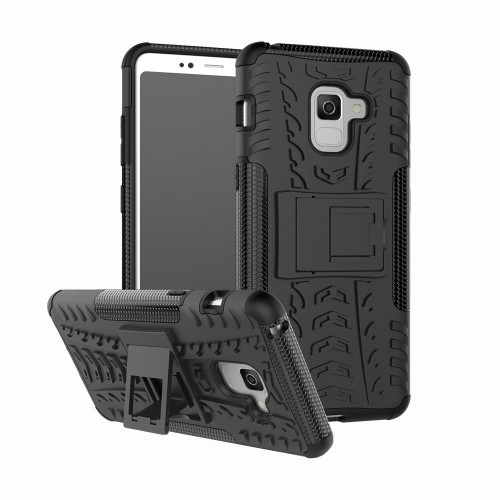 Samsung Galaxy A8 Plus 2018 - Rugged Armor Stand / Hybrid / Dazzle Cover / Shockproof