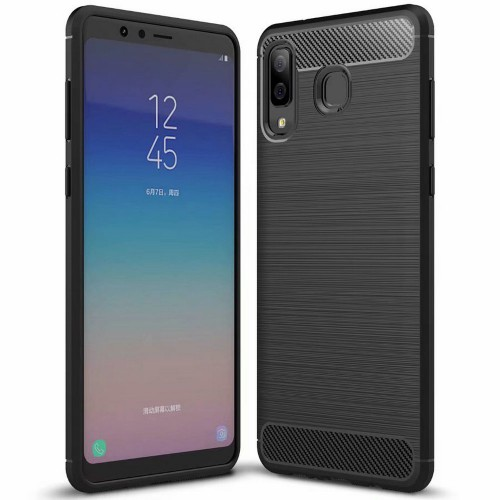 Samsung Galaxy A8 Star Rugged FS / Delkin - Carbon Fibre Case Slim Rugged Armor ShockProof / Rubber