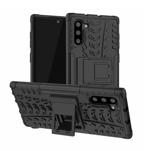 Samsung Galaxy Note 10 aja - Rugged Armor Stand / Hybrid / Dazzle Cover / Shockproof