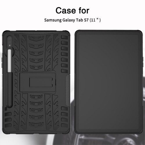 Samsung Galaxy Tab S7 11 Inch T875 T870 Rugged Armor Stand / Hybrid / Dazzle Cover / Anti Shockproof / Tahan Banting Buat Lapangan