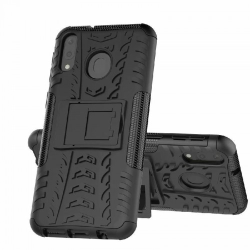 Samsung M20 - Rugged Armor Stand / Hybrid / Dazzle Cover / Shockproof