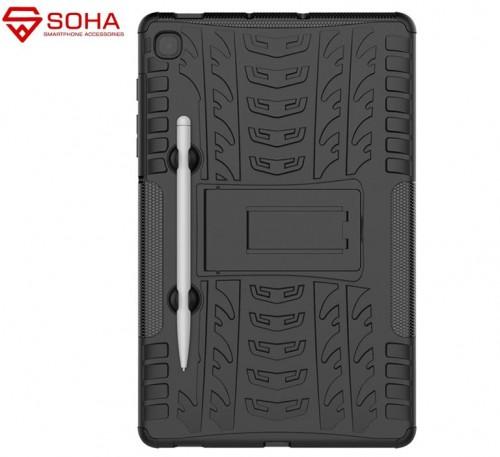 Samsung Tab S6 Lite 2020 10.5 Inch P610 P615 - Rugged Armor Stand / Hybrid / Dazzle Cover / Anti Shockproof / Tahan Banting Buat Lapangan