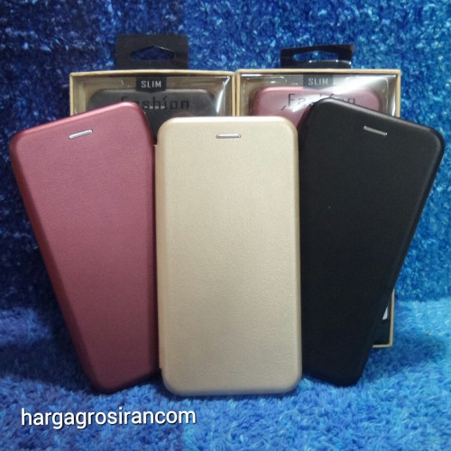 Sarung Kulit Xiaomi Redmi S2 / Flip / Leather Case