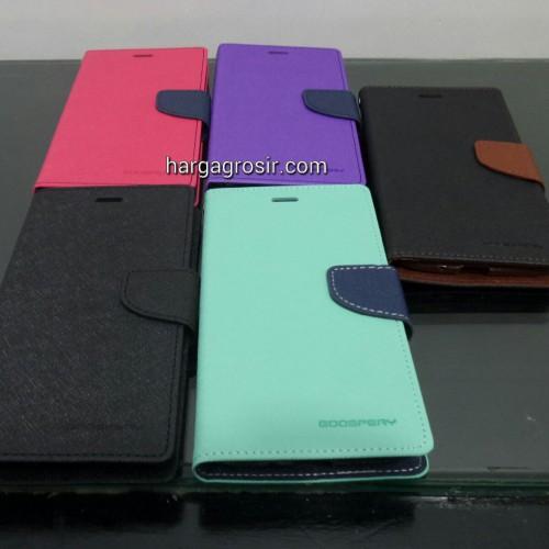 Sarung Mercury Fancy Diary Asus Zenfone 2 5.5 Inch