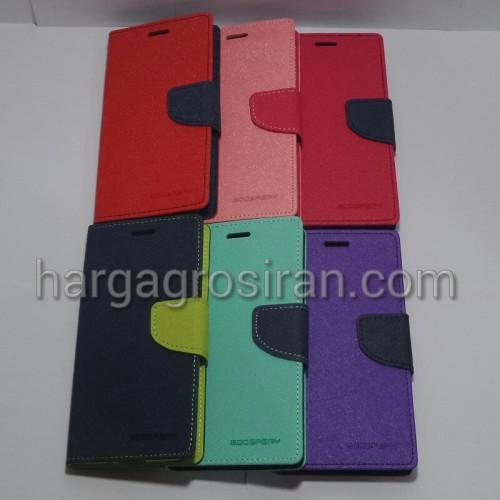 Sarung Ori Mercury Goospery Fancy Diary Samsung Galaxy J3 - Case / Cover / Dompet