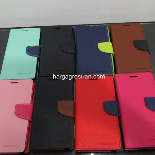 Sarung Mercury Fancy Diary Samsung Note 3 Neo