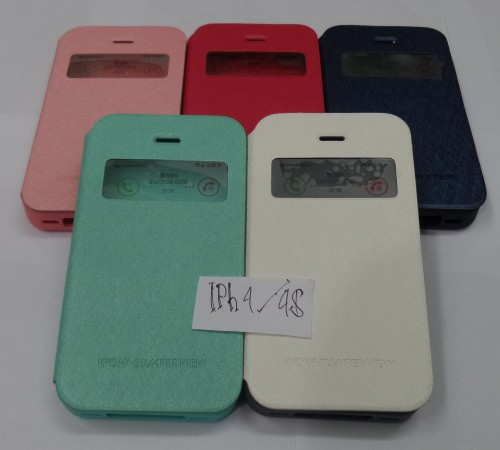 Sarung Wow Bumper View Iphone 4/4S