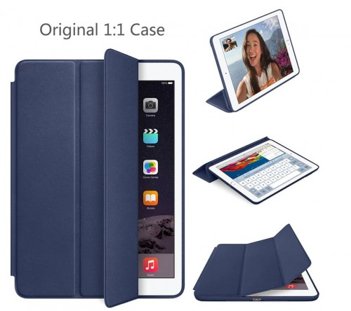 SCI-001 Ipad 9.7 Inch 2017 / 2018 Leather Case Sarung Model Original Smart Cover