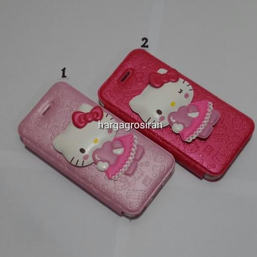 Sarung Motif HelloKitty Iphone 5/5S - Obral case SSDIS - K1007