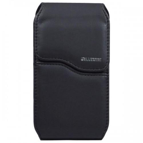 Sarung Pinggang Single Berdiri - 3 Inch - Standing - Wellcomm Kualitas Kulit - Ukuran Sedang Nokia E