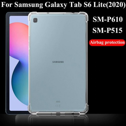 SBT-002 Silikon Anti Crack Samsung Tab S6 Lite / P615 P610 Soft Bening Tablet Back Case Cover