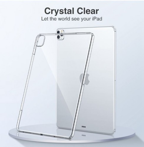 Silikon Ipad New 11 Pro 2020 Soft Case Bening Tablet Silikon Clear Cover Shock Absorption STRDY