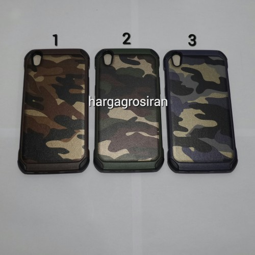 Slim Army Oppo F1+ / Plus - Back Case / Cover Armor / Loleng TNI / Abri / Brimob / Te