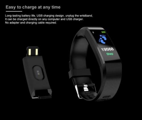 Hot Sale Smart Sports Watch Bracelet Health Heart Rate Monitoring Bracelet Fitness Tracker Waterproo